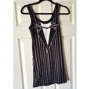 Jack Skellington Tank Top Dress